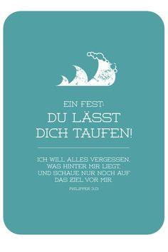 Postkarte - Taufe