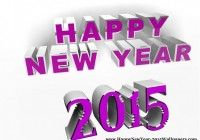 Happy New Year 2015 sms wishes