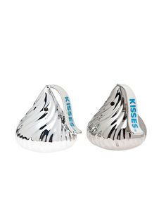 Take a look at this Silver Hershey Kiss Salt & Pepper Shakers by Godinger on #zulily today!
