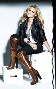 Shoes - Jessica Simpson Hosana boots in Mahogany Onyx More Jessica Simpson...