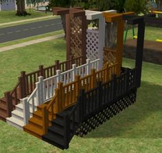 ModTheSims - Silversong Porch Build Set - updated placement info