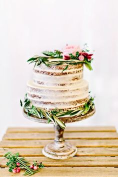 """Speciale torta nuziale 2016: scopri la """"Naked cake"""" e stupisci tutti! Image: 0"""