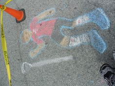 Street Art by the children at 16th Annual Arts Walk