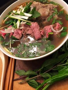 JD's Pho w/Oxtail, Tri-Tip, & Filet Mignon