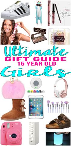 BEST Gifts 15 Year Old Girls Top Gift Ideas That Yr Will Love Find Presents Suggestions For A 15th Birthday Christmas Or Just