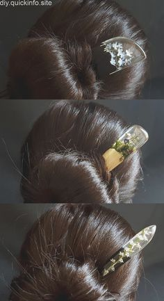 Mahogany hair stick Bun holder Long hair accessories hair stick Wood hair stick Womens hair Gift Resin hair fork Hair slide Blue Resin Stick