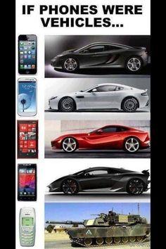 #funny #humor #phone #cars #nokia #tank