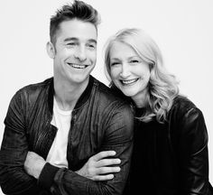 - SCOTT SPEEDMAN AND PATRICIA CLARKSON OF 'OCTOBER GALE'