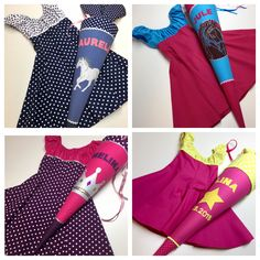 Colorful clothes, color-coordinated with the school bag. I can make them for you from cotton or jer . Kids Outfits, Summer Outfits, Summer Dresses, Summer Clothes, Colourful Outfits, Colorful Clothes, Co Ord, Mother And Child, School Bags
