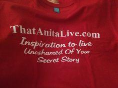 #LiveUnashamedofYourSecretStory