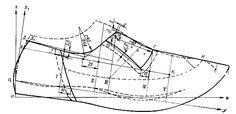 Men Oxford's style shoe pattern Pattern Sketch, Mould Design, Modelista, Felted Slippers, Shoe Pattern, Make Design, Men S Shoes, Pattern Making, Designer Shoes