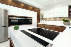delectable Kitchen Design Ideas You'll desire to Steal. Kitchen Room Design, Kitchen Cabinet Design, Kitchen Cabinetry, Modern Kitchen Design, Home Decor Kitchen, Interior Design Kitchen, Small Modern Kitchens, Beautiful Kitchens, Family Kitchen