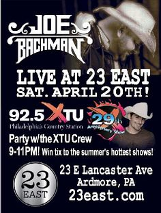 Country Music Stations Recent Events Event Posters April 20 Venues Anniversary 925 XTU