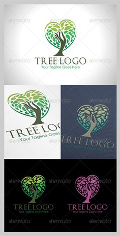 I liked this when I was looking more at trees. Tree Logo - Nature Logo Templates