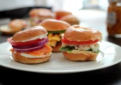 Mini Bagel Breakfast Sliders | 44 Brunch Recipes You Can Make At Home To Save Cash