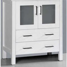 White Double Door Jelly Cabinet | http ...