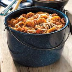 Wagon Train Pasta - Just. the kind of kid friendly, easy dinner the kids like