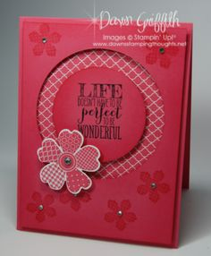 Blumen Karte - Stampin up