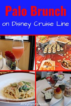 Palo brunch on Disney Cruise Line - Disney in your Day Cruise Tips, Cruise Vacation, Disney Vacations, Disney Trips, Disney Travel, Cruise Travel, Family Vacations, Vacation Destinations, Smoked Salmon Mousse