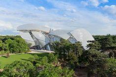 fondation louis vuitton, nieuw museum in Parijs.