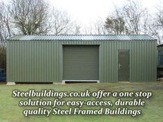 Want to know more about steel buildings? Check this presentation. This is extremely useful and informative.