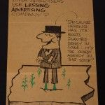 """""""Why should Iowa advertisers use Lessing Advertising Company?"""" Vintage Lessing-Flynn ad from the 1960's. Used as a direct mailer and placed as ads in small pubs around Des Moines."""