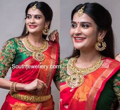 Antique Gold Bridal Jewellery by Hiya designer Jewellery