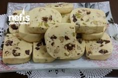 Tea Time Cookie (Don& Stay Unwritten) - Yummy Recipes - kurabİye Yummy Recipes, Cookie Recipes, Yummy Food, Cake Recipe Using Buttermilk, Turkish Recipes, Food Cakes, Finger Foods, Tea Time, Bakery