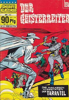 Sheriff Klassiker 111 | Sheriff Klassiker / Heft-Reihe > Der… | Flickr Marvel Comic Books, Comic Book Characters, Comic Books Art, Marvel Comics, Book Art, Comic Art, Ghost Rider 2, Vintage Comic Books, Vintage Comics