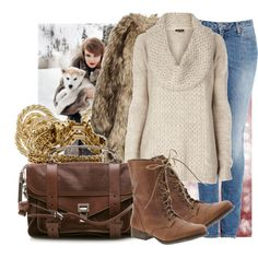 Combat boot outfit- minus the fur and gold bangles!