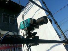 Esta es la cámara para los finales cerrados, conocida como Foto Finish #VueltaAlTáchira #Venezuela #Ciclismo (foto: @rupertoteleSUR)