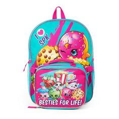 Shopkins Girls' Backpack with Detachable Lunch ** Read more  at the image link. (This is an Amazon Affiliate link and I receive a commission for the sales)