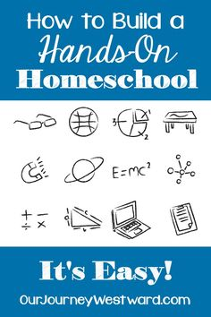 There are so many wonderful reasons hands-on homeschool. There are even more wonderful ways to go about it. Learn the why's and how's in this perfectly practical post. Homeschool Kindergarten, Homeschool Curriculum, Homeschooling Resources, School Resources, Preschool, Hands On Learning, Learning Activities, Kids Learning, How To Start Homeschooling
