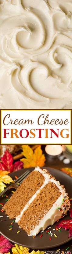 Classic Cream Cheese Frosting - to get a perfect cream cheese frosting don't melt the cream cheese in the microwave! Also chill it in the freezer between mixing to keep it nice and cold. I could eat this stuff by the spoonful!!