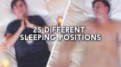 25 Different Sleeping Positions