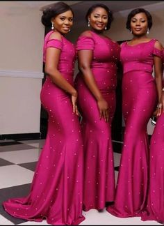 Black Girl Mermaid Bridesmaid Dresses with Pearl Plus Size Sheath Long Bridesmaid Gowns Custom Made Cheap Wedding Guest Dresses Mermaid Bridesmaid Dresses, Affordable Bridesmaid Dresses, Mermaid Dresses, Bridesmaid Ideas, Teal Bridesmaids, African Bridesmaid Dresses, Wedding Guest Gowns, New Wedding Dresses, Bridal Gowns