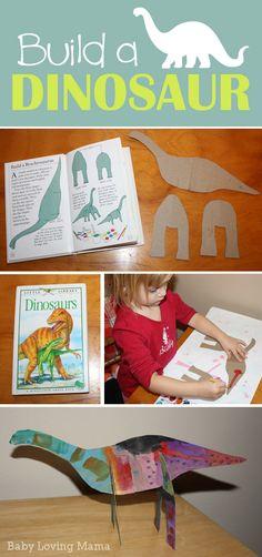 Build a Dinosaur Craft Tutorial