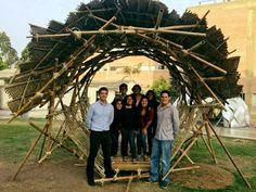 The Best Student Design-Build Projects Worldwide 2016,K-OS / Estructura Recíproca (Pontificia Universidad Católica del Perú). Image Courtesy of Néstor Purizaga Patiño