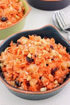 Tropical Carrot Salad by Cinnamon Spice and Everything Nice
