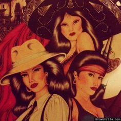 CHOLA ARTE / CHARRA ARTE /BrownPride.com Arte Cholo, Cholo Art, Chicano Art, Chicano Drawings, Mexican American, Mexican Art, Gangsta Lovin, Gangsta Girl, Chola Girl