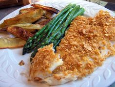 Corn Flakes: Baked Fish Fillets
