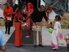 The Trick-or-Treat Loving Obama
