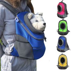 Portable Pet Dog Cat Backpack Carrier Head Out Travel Chest Bag Double-shoulder - Ideas of Cat Backpack Cat Backpack Carrier, Pet Dogs, Dog Cat, Puppy Carrier, Backpack Reviews, Pet Carriers, Fat Cats, Pet Care, Your Pet