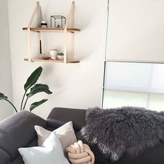 """➖Hailey➖ on Instagram: """"//Tan Two Tier Roundie// Ok people the challenge has been layed down. Lauren from @rawluxeinteriors postie delivered this shelf this afternoon and I'm pretty sure it was installed AND styled within an hour... and on point styling too  Nice work team. I'm impressed. Looks amazing in this corner."""""""