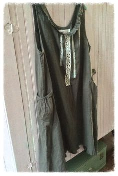 A personal favorite from my Etsy shop https://www.etsy.com/listing/511684375/linen-cotton-dress-grey-brown-magnolia