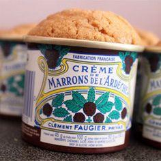 Gâteau à la crème de marrons sans lactose et sans gluten