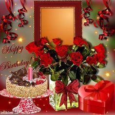 Happy Birthday Greetings Friends, Happy Birthday Wishes Photos, Birthday Wishes Flowers, Happy Birthday Frame, Happy Birthday Cake Images, Happy Birthday Wishes Images, Happy Birthday Cupcakes, Happy Birthday Video, Happy Birthday Flower
