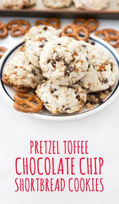 If salty and sweet is your definition of the perfect dessert, then say hello to your new favorite recipe—these Pretzel Toffee Chocolate Chip Shortbread Cookies! Using Krusteaz Shortbread Cookie mix, tackling your holiday baking this year will be a breeze! Plus, you can even give these bite-sized desserts as homemade Christmas gifts.
