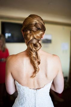 Loose and romantic braid