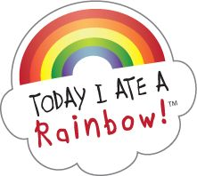Love this 'Today I Ate a Rainbow' chart...works like a charm with my 4 year old daughter - who now checks her lunch every day: 'Is there a rainbow, Maman'?